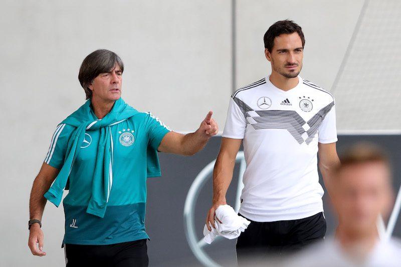 レーヴ監督、フンメルスのドイツ代表復帰は「今のところ考えにはない」