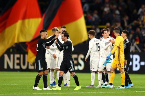 ドイツ、ニャブリの1ゴール1アシストで先行も…アルゼンチンが追いつきドロー
