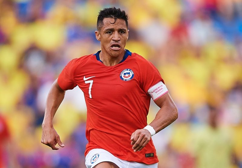 A・サンチェスが左足首を負傷…チリ代表から離脱し検査へ