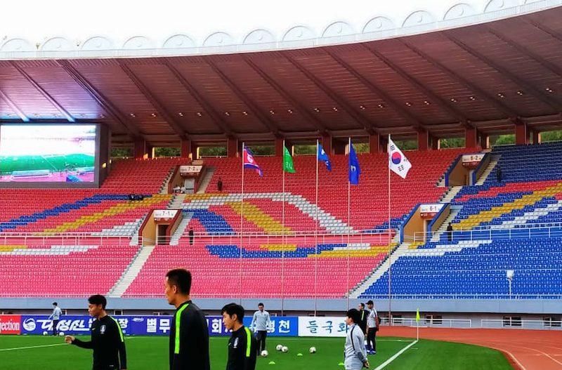 韓国代表、北朝鮮代表