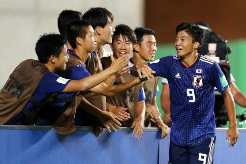 若月大和の2得点で快勝のU17日本…チームのテーマは「一丸で笑顔を忘れない」