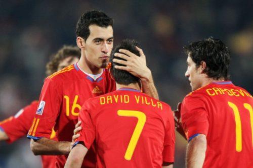 ビジャがEURO予選のベスト11を選出! スペイン代表からは3選手