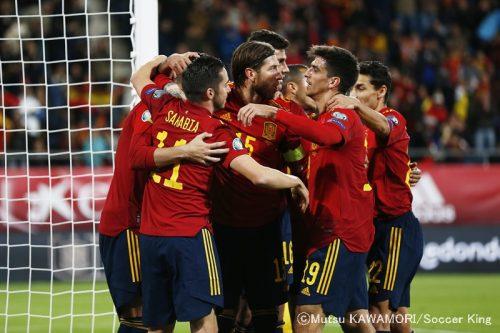 【写真ギャラリー】2019.11.15 EURO2020予選 スペイン代表 7-0 マルタ代表
