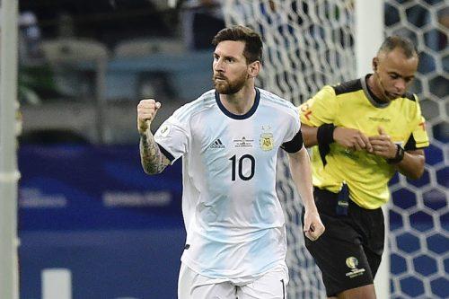 メッシが4カ月ぶり復帰で決勝弾!…アルゼンチン、ブラジル撃破でリベンジ達成