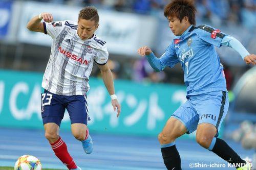 1ゴール1アシストと大活躍の横浜FM・仲川…「攻めて、攻めまくって、点取って、勝てばいいです」