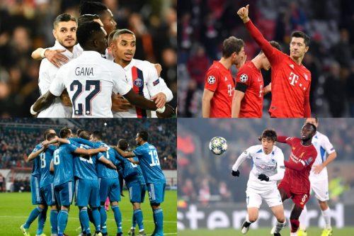 PSG、バイエルン、ユーヴェのグループステージ突破が確定…日本人は3選手が出場/CL・GS第4節