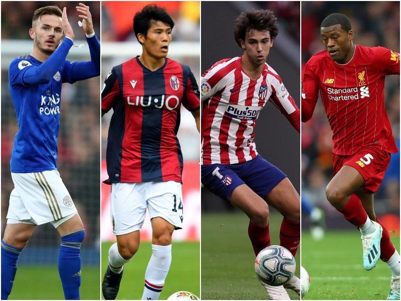 今月で何歳になる?…11月生まれのサッカー選手たち