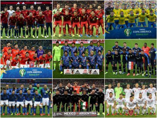 FIFAランク上位30カ国を対象に調査…2019年の代表勝率ランキングトップ5&ワースト5