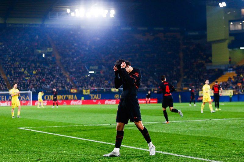 アトレティコ、ビジャレアルとスコアレスドロー…リーグ戦6試合でわずか1勝