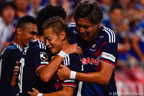 J1 YokohamaFM vs Hiroshima Kiyohara12(s)