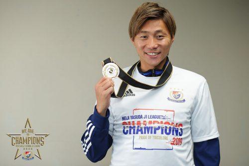 【J1優勝インタビュー②】優勝するために横浜FMに加入した松原健…「夢が一つ叶って今は本当にうれしい」