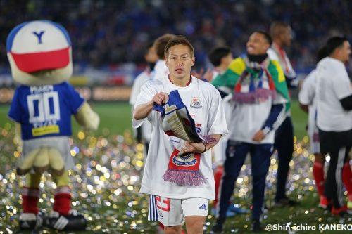 自身初の得点王に輝いた横浜FMの仲川…「マリノスのために、マリノスに恩返しがしたい」