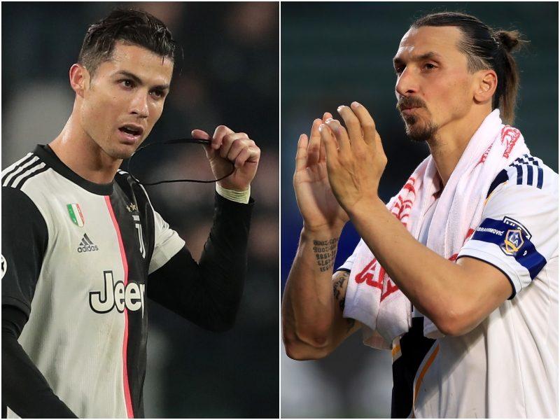 """イブラがC・ロナウドを""""挑発""""? イタリア復帰で直接対決実現も「真のロナウドは…」"""