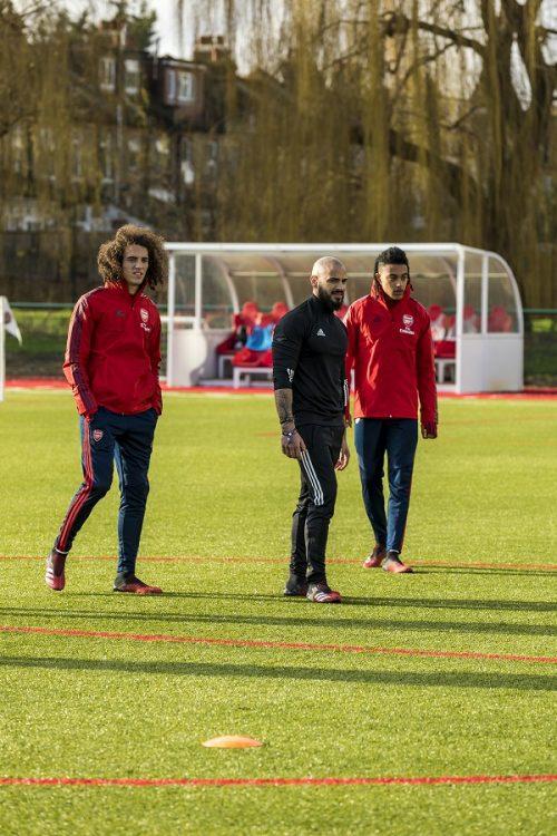 Arsenal Training Day 2020-14