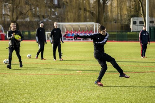 Arsenal Training Day 2020-21