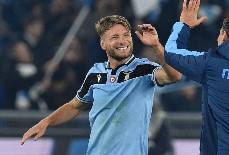 インモービレが5大リーグ最速20ゴール達成! ラツィオ、ナポリ撃破で10連勝