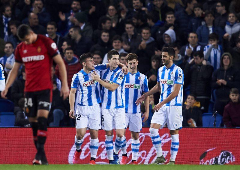 レアル・ソシエダがマジョルカに3-0快勝…途中出場の久保は見せ場なし