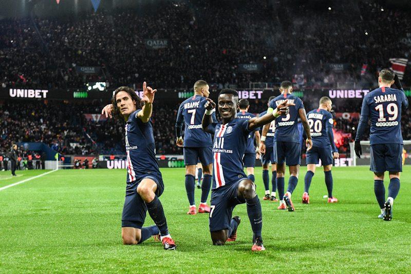 PSG、リヨンに4発で5連勝…カバーニが約半年ぶりにリーグ戦でゴール