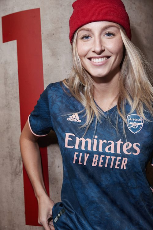 ARSENAL WOMEN'S THIRD KIT (2)