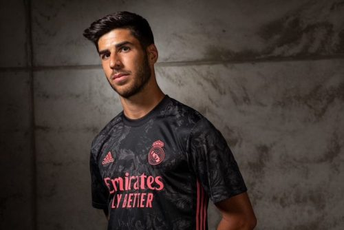 ASENSIO WEARS REAL MADRID THIRD JERSEY