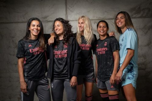 WOMENS TEAM WEARS REAL MADRID THIRD JERSEY