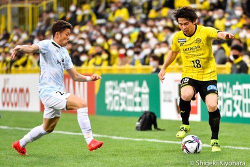 20210306 J1 Kashiwa vs Shonan Kiyohara20(s)