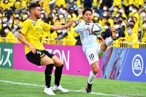 20210306 J1 Kashiwa vs Shonan Kiyohara8(s)