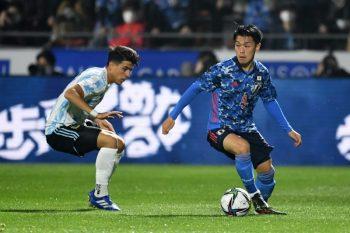 U-24日本代表対U-24アルゼンチン代表