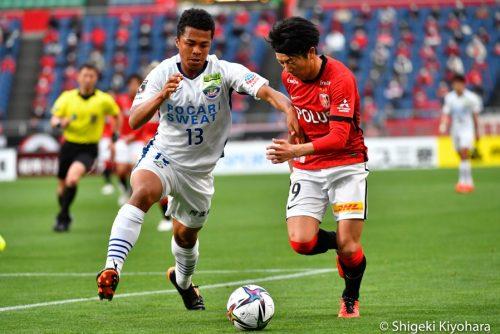 20210411 J1 Urawa vs Tokushima Kiyohara30(s)