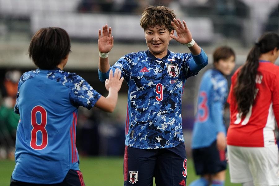 なでしこジャパン、途中出場組も結果出しパラグアイに7得点完勝 ...