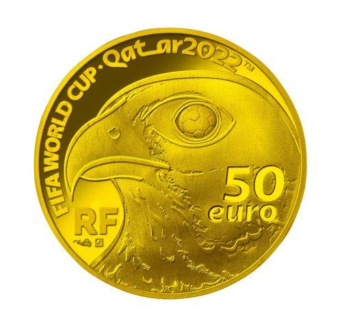 02_フランス50ユーロ金貨 裏面