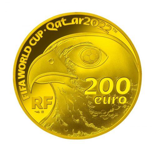 01_フランス200ユーロ金貨 裏面