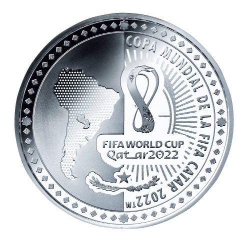 12_パラグアイ1グアラニー銀貨 裏面