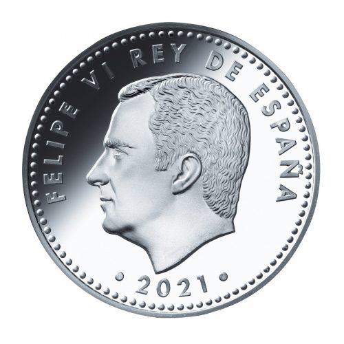 11_スペイン10ユーロ銀貨 表面