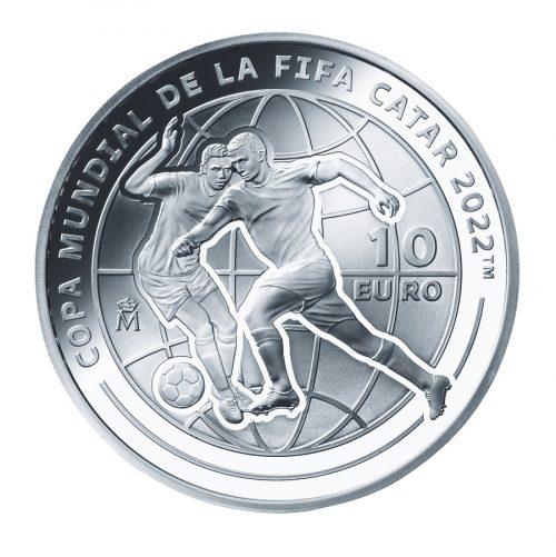 10_スペイン10ユーロ銀貨 裏面