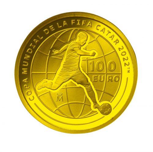 04_スペイン100ユーロ金貨 裏面