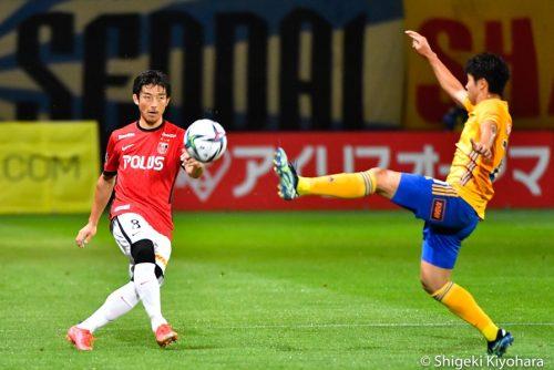 20210703 J1 Sendai vs Urawa Kiyohara9(s)